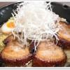 【イチオシ!】特製あぶりチャーシューめん(醤油ラーメン太麺)