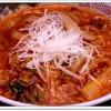 激辛!醤油担々めん(醤油担々麺太麺)