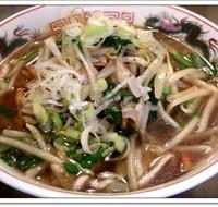 肉ニラもやしめん(醤油ラーメン太麺)