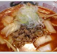 【オススメ】ピリ辛醤油担々めん(醤油担々麺太麺)
