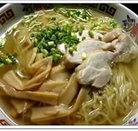 とり塩らーめん(塩ラーメン細麺)