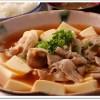 豚バラ肉豆腐定食